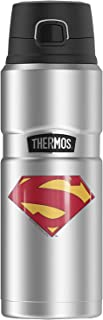 Superman New 52 Shield Logo, THERMOS STAINLESS KING...