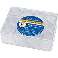 Darice Bead Organizer Storage Case Holder With 12 Small Containers
