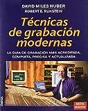 Tecnicas De Grabacion Modernas by MILES HUBER(1905-06-29)