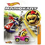 Hot Wheels Bowser Super Mario Kart Character Car Diecast 1:64 Scale