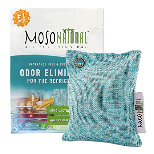 For Sale! MOSO NATURAL Air Purifying Bag for The Refrigerator. Freezer and Fridge Odor Eliminator. M...