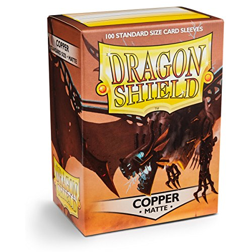 Sleeves: Dragon Shield Matte Copper image