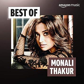 Best of Monali Thakur