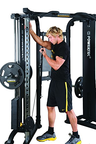 Powertec Fitness Functional Trainer Deluxe, Black