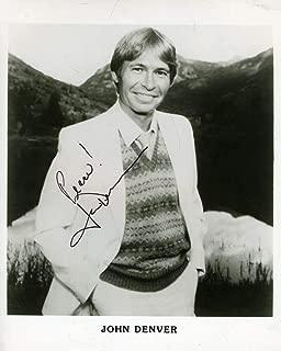 JOHN DENVER Coa Hand Signed 8x10 Photo Autograph - JSA Certified