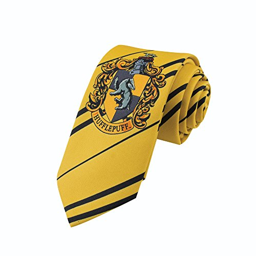 Cinereplicas - Harry Potter - Kinder Krawatte- Offizell lizensiert - Hufflepuff - Gelb und Rot