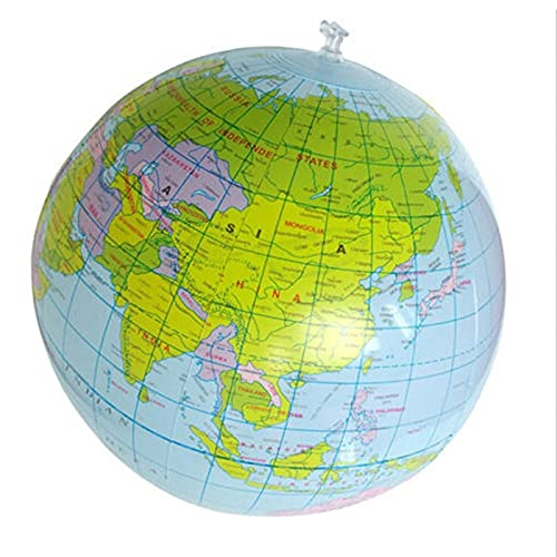 WSF-CARTE, 1pcs 30cm Globe Globe Globe World Earth Map Carte Ball Ball Géographie Apprentissage Éducatif Plage Ball Ball Enfants Jouet