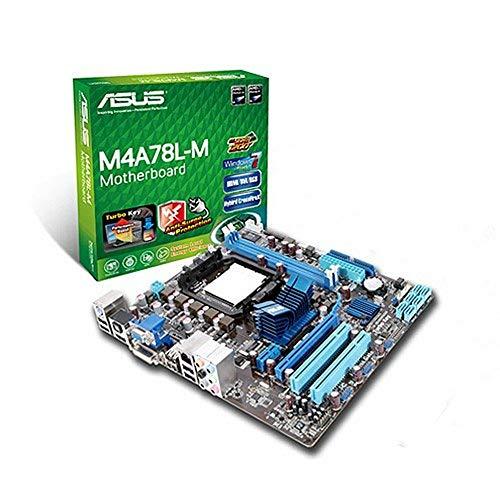 Asus M4A78L-M - Placa Base (8 GB, DDR2 1200(O.C.)/1066/800/667, AMD, Socket AM3, PhenomII/AthlonII/Phenom / Athlon /Sempron, VT1708S)