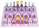 Juego de juegos de mesa de entretenimiento Juegos de ajedrez Chess Chess Puzzle de madera Juego de ajedrez para niños, estudiantes, principiantes y adultos 30 * 30 cm / 11.8x11.8En regalos de ajedrez