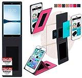 reboon Hülle für Meizu 15 Plus Tasche Cover Case Bumper | Pink | Testsieger