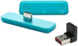 対応Nintendo Switch/Switch Lite PS4 PC用 GuliKit Route Air Bluetooth アダプター ワイヤレス Bluetooth BTHオーディオトランスミッター AirPods Bluetooth...