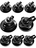 Zhanmai 8 Pieces Boston Valve Replacement Fit Air Valve for Inflatable