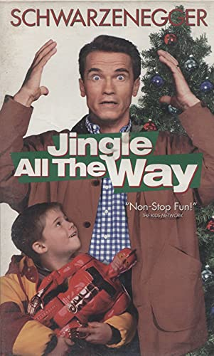 Jingle All The Way - VHS Home Movie Video Tape