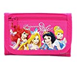 Disney Princess Style Hot Pink Trifold Wallet - 1 WALLET ONLY