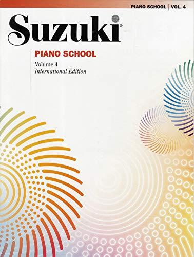 Suzuki Piano School New International Edition Piano Book, Volume 4 (The Suzuki Method Core Materials)