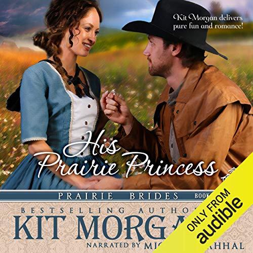 His Prairie Princess audiobook cover art