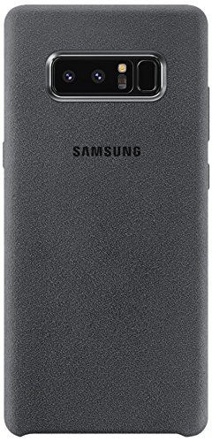 Samsung Alcantara Cover Case for Galaxy Note 8 - Dark Grey