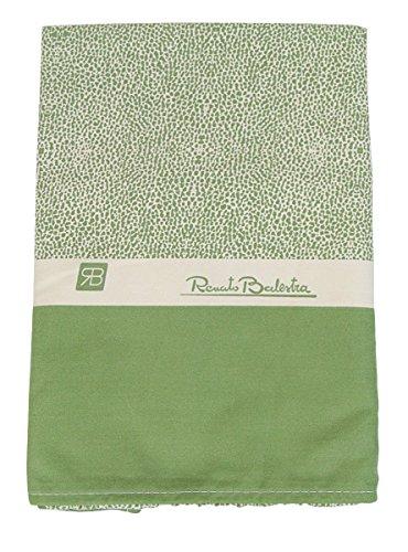 Renato Balestra TELO mare in microfibra asciugamano copri lettino Borbonese verde