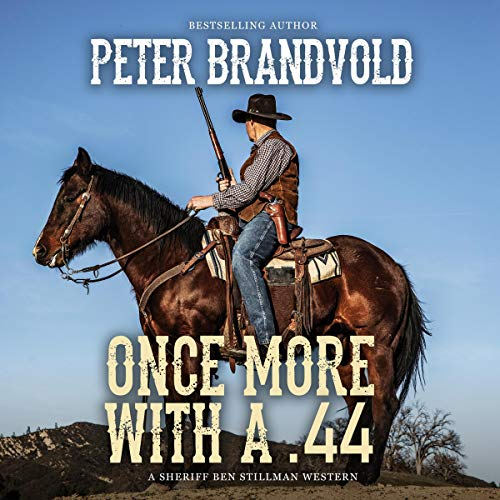 Once More with a .44 audiobook cover art
