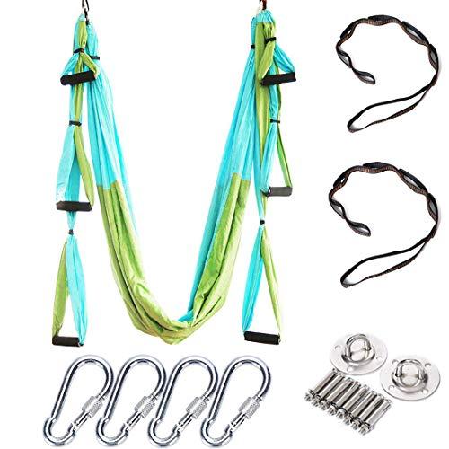 Brinny Aerial Yoga Schaukel Swing Equipment Ultra Starke Antigravity Yoga Hängematte/Trapez/Sling Für Antigravity Yoga Inversion Übungen - 2...