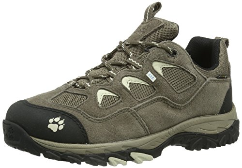 Jack Wolfskin Mountain Attack Texapore Women 4010031-5017030 Damen Trekking- & Wanderschuhe, Beige (white sand), EU 35.5 (UK 3) (US 5)
