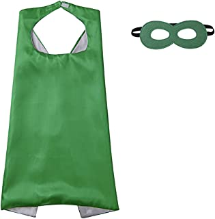 green cape fancy dress