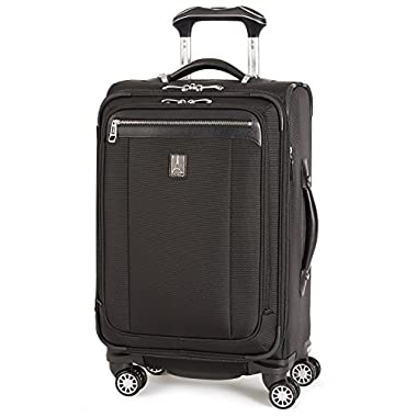 Travelpro Platinum Magna 2 Carry-On Expandable Spinner Suiter Suitcase, 21-in, Black