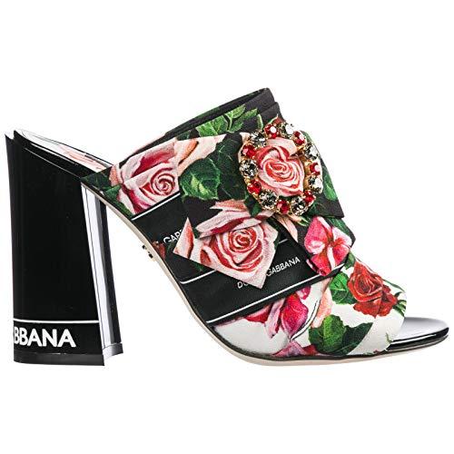 Dolce&Gabbana Sandalias Mujer Mix Rose 36 EU