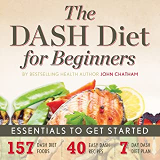 The DASH Diet for Beginners: Essentials to Get Started audiobook cover art