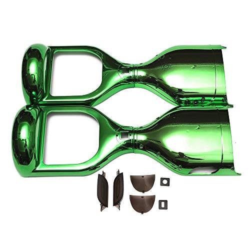 ZJY 6,5-Zoll-Kratzschutzhülle, Hoverboard-Schutzhülle - Hochwertiger ABS-Kunststoff Elektroroller mit 2 Rädern