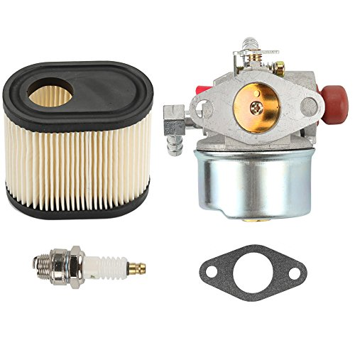 Anzac 640350 Carburetor Carb for Tecumseh 640173 640303 640271 640174 640262 640262A 640124 640156 640168 LEV110 LEV115 LEV120 LV195EA with 36905 Air Filter