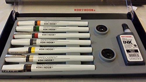Rapidograph Artist 7 Pen Set