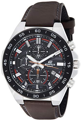 Casio Efr-564bl-5avudf Reloj Cronógrafo para Hombre Colección Edifice Caja De Acero Inoxidable Esfera Color Negro