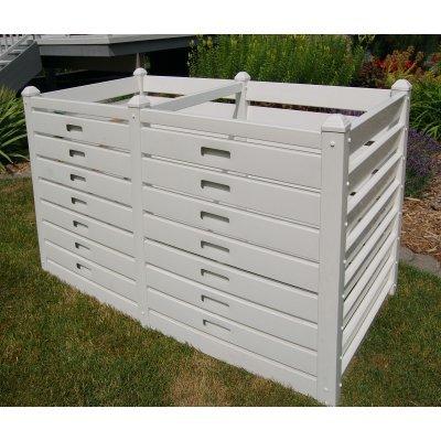 Best Price Dura-Trel Vinyl Garden Compost Bin - 180 Gallons
