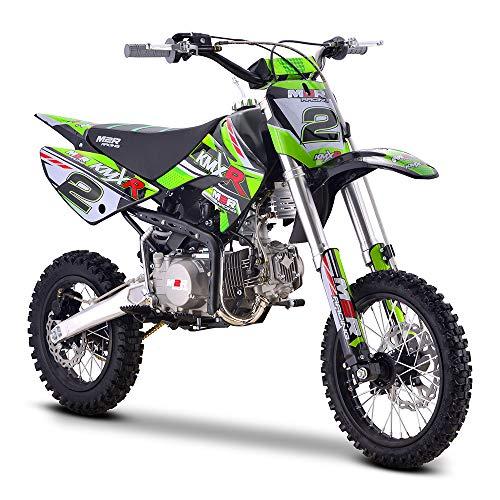 Pit bike de carreras M2R, 140 cc, KMXR140, 82 cm, verde