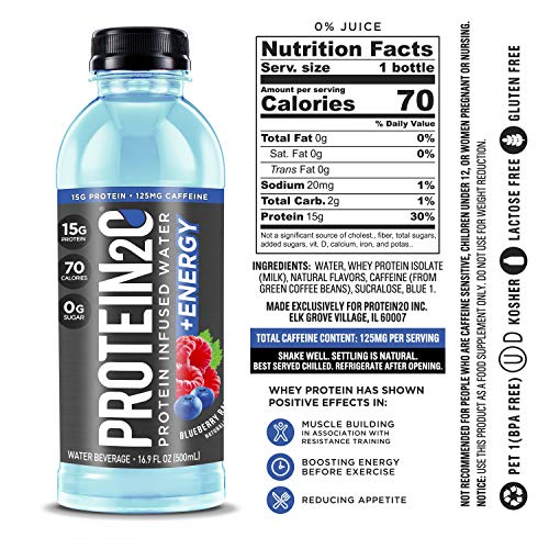 Premier Protein 20g Protein Shake with Oats, Blueberries