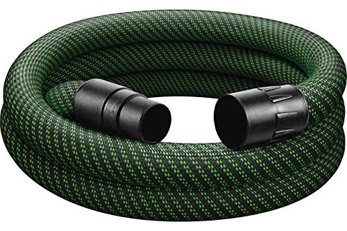 Festool 500677 stofzuigerslang 36 mm x 3,5 m zwart/groen