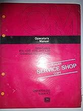 John Deere 415 420 428 430 Universal Rotary Hoes Operators Owners Manual Original OMN159315 K2