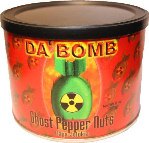 Da' Bomb Ghost Pepper Nuts 8 oz.