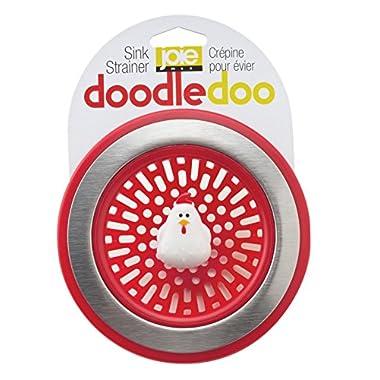 MSC International 89303 Joie Doodle Doo Kitchen Sink Strainer Basket, Rooster, 4.5-inch