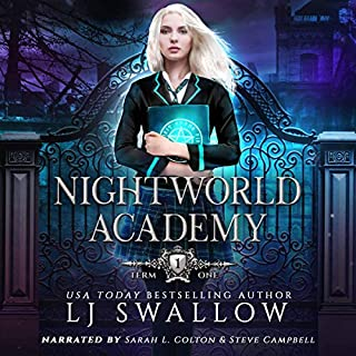 Nightworld Academy: Term One audiobook cover art
