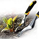 BLAZOR Hand Weeder Dandelion Remover Tool, Garden Manual Weed Puller Bend-Proof Weed Puller Digger...