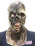 Sistema rapido e semplice: Questa maschera completa è facile da inserire e rimuovere. Con un rapido cambiamento puoi far urlare i tuoi amici dalla paura. Taglia unica: taglia unica adatta per adulti. Comoda da indossare: questa maschera è comoda da u...