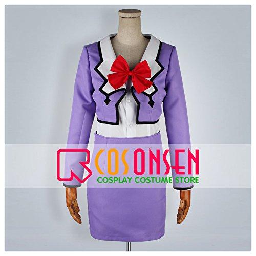 『美少女戦士セーラームーン 冥王せつな(セーラープルート) コスプレ衣装 (女性オーダサイズ)』の1枚目の画像