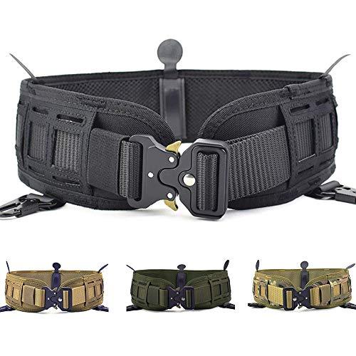 ACTIONUNION Tactical Battle Belt Set Airsoft Molle Belt Slim War Belt