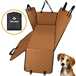 dog seat cover with door protector