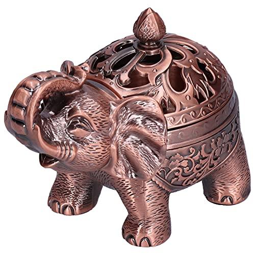 Yosoo123 Quemador de Incienso de Elefante con Soporte de Incienso Multifuncional de pies Altos para Sala de meditación en casa Sala de Yoga