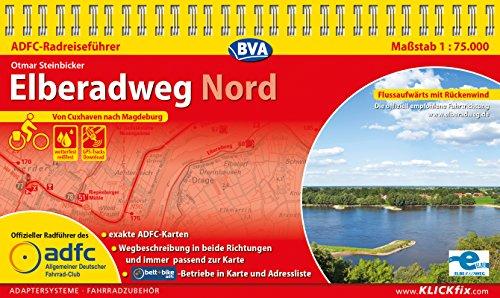 ADFC-Radreiseführer Elberadweg Nord 1:75.000 praktische Spiralbindung, reiß- und wetterfest, GPS-Tracks Download: Von Cuxhaven nach Magdeburg (German Edition)