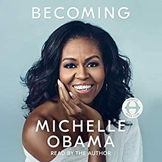 Becoming audiobook cover art