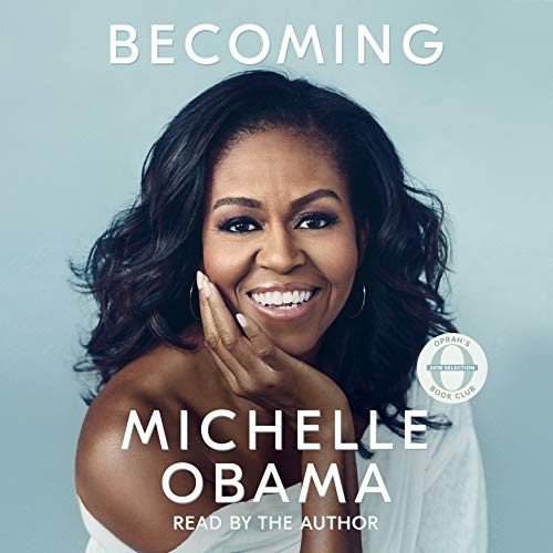 Becoming                   Auteur(s):                                                                                                                                 Michelle Obama                               Narrateur(s):                                                                                                                                 Michelle Obama                      Durée: 19 h et 3 min     3 300 évaluations     Au global 4,9